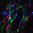 5mm SoftTwinkle TM Wide Angle Multi Color LED Christmas Lights on Green Wire