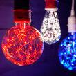 G80 Blue ImagineLED TM Fairy Light Bulbs