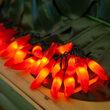 Red Chili Pepper Cluster Light Set