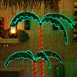 2.5' Deluxe Rope Light LED Palm Tree