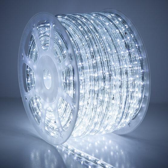 Cool White LED Rope Light, 120 Volt