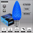 C9 Blue OptiCore TM LED Bulbs