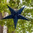 Blue Aurora Superstar TM 5 Point Star Light, Fold-Flat, LED Lights, Outdoor Rated