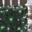 4' x 6' Cool White M5 LED Christmas Net Lights, 100 Lights on Green Wire