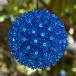 "6"" Blue Starlight Sphere, 50 Lights"