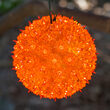 "6"" Amber Starlight Sphere, 50 Lights"