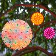 """6"""" Multicolor Starlight Sphere, 50 Lights"""