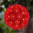 """6"""" Red LED Starlight Sphere, 70 Lights"""