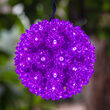 "6"" Purple LED Starlight Sphere, 70 Lights"