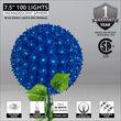 "7.5"" Blue Starlight Sphere Stake"