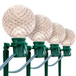 G50 Warm White OptiCore Garden LED Pathway Lights, 25 Lights, 7.5 Inch Stakes, 25'