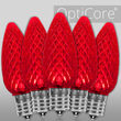 C9 Red OptiCore LED Bulbs