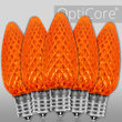 C9 Amber OptiCore LED Bulbs