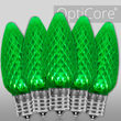 C9 Green OptiCore LED Bulbs