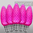 C9 Pink OptiCore LED Bulbs