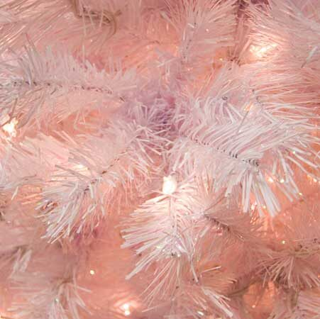 Crystal Fir Prelit Tree