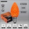C7 Amber OptiCore LED Bulbs