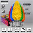 C9 Multicolor OptiCore LED Bulbs