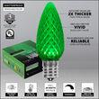 C9 Green OptiCore LED Bulbs