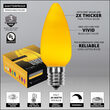 C9 Opaque Gold OptiCore LED Bulbs
