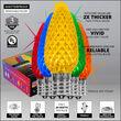 C9 Twinkle Multicolor OptiCore LED Bulbs
