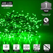 Green LED Fairy Lights, Green Wire
