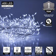 Cool White LED Fairy Lights, Silver Wire