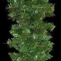 Unlit Christmas garland