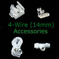 4 wire 14mm rope light accessories