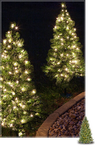 Green Outdoor Christmas Lights