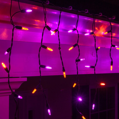 Halloween Themed Icicle Lights