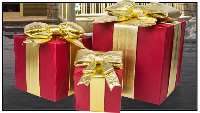 Commercial Outdoor Christmas Presents