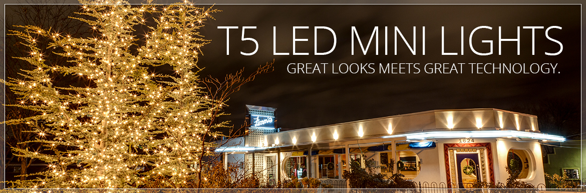 T5 LED Christmas Tree Lights