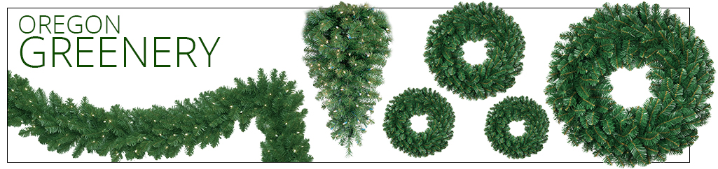 Oregon Fir Commercial Christmas Tree Greenery