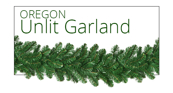 Oregon Fir Unlit Garland