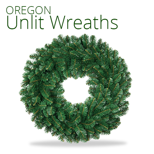 Oregon Fir Unlit Wreath