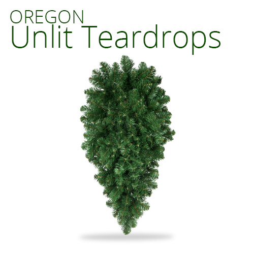 Oregon Fir Unlit Teardrop