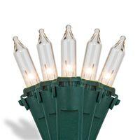 Incandescent Mini Lights Premium Green Wire