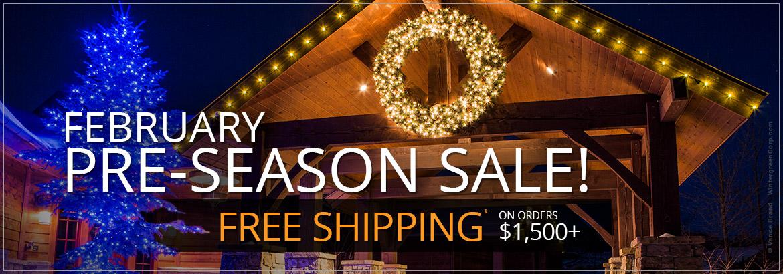 February Pre-Season Sale!