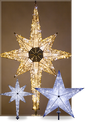 Commercial Christmas Tree Toppers