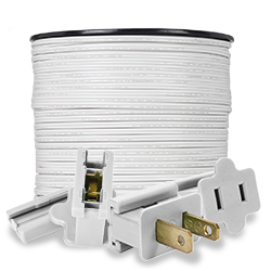 White Electrical Accessories