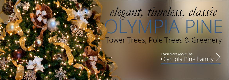 Olympia Pine Christmas Greenery