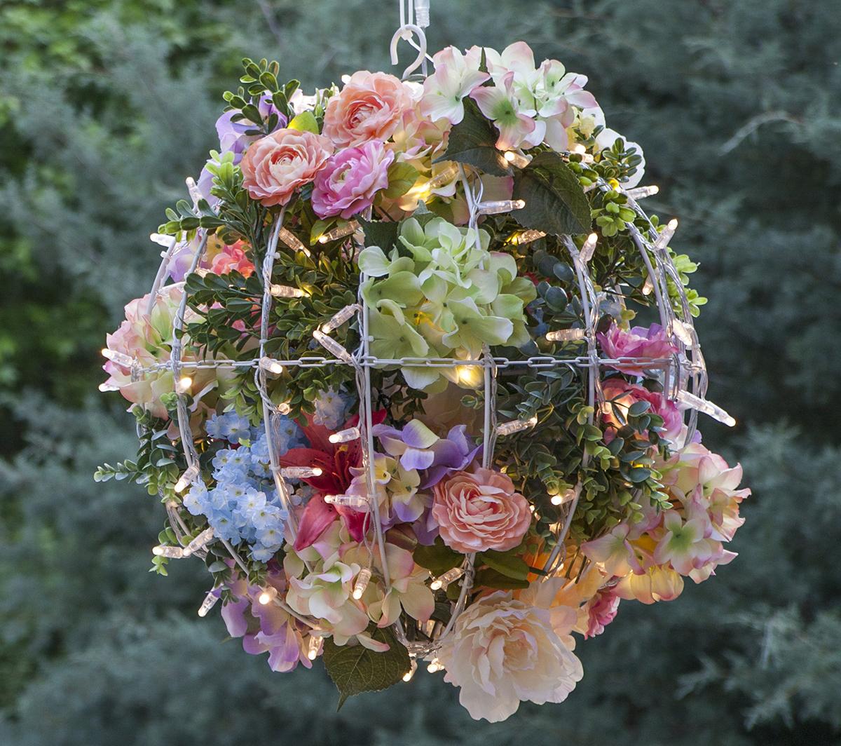 Flower Light Balls