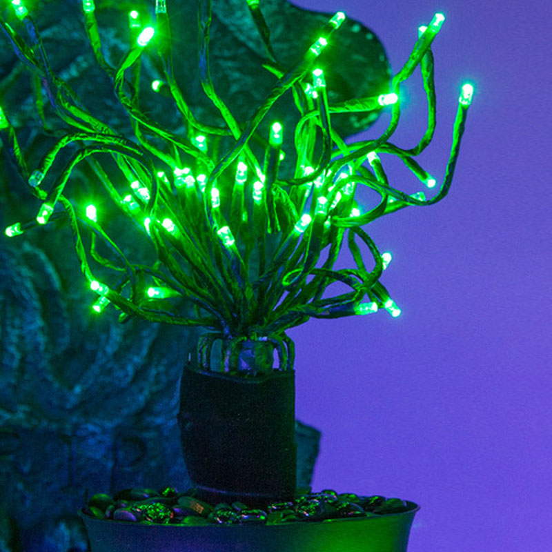 Halloween Starburst Lighted Branches