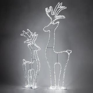 3D LED Standing Reindeer