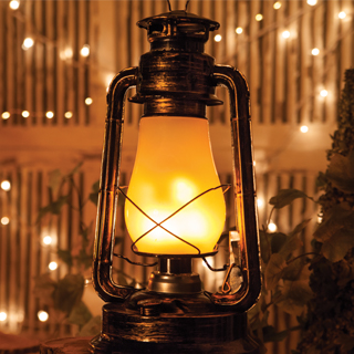 Digital Flame LED Lanterns
