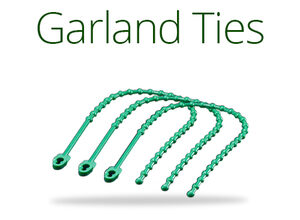 Greenery Garland Ties