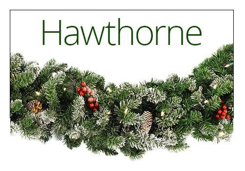 Hawthorne Christmas Garland
