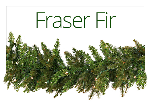 Fraser Fir Christmas Garland