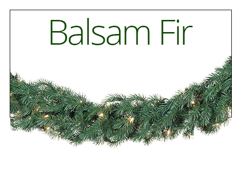 Balsam Fir Christmas Garland
